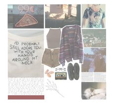 """sad pop punk songs // playlist + 👽"" by theboy-who-could-fly ❤ liked on Polyvore featuring Miss Selfridge, American Apparel, Converse, ZeroUV, INDIE HAIR and Crate and Barrel"