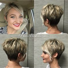 40 Bold And Gorgeous Asymmetrical Pixie Cuts Asymmetrical Long Pixie Haircut Short Hair Styles For Fine Hair Pin On Hair Really Trendy Asymmetrical Pixie Cut 42 Curly Pixie Haircuts, Short Spiky Hairstyles, Blonde Haircuts, Girls Short Haircuts, Wavy Pixie, Ladies Hairstyles, Everyday Hairstyles, Pink Hairstyles, Boy Haircuts