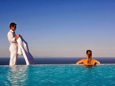 Santorini Carpe Diem Hotel Greece, Europe Boasting a scenic backdrop, the [HOTELNAME] is a luxury hotel on Santorini Island. The impressive suites feature private plunge pools as well as large terraces from which you can observe the sea, the sunset, and the volcano. If you're an early riser, don't forget to catch the sunrise as it is a beautiful spectacle. The hotel's guests can also enjoy the leisure facilities provided on the premises like a spa, Jacuzzi, sauna, and outdoor ...