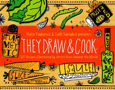 #PlazaEtxeberri Las #recetasilustradas de: They Draw & Cook