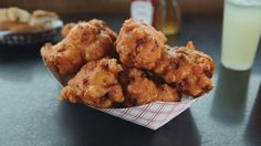 Phantom Gourmet's Best Dishes of 2014 — Clam Cakes from Aunt Carrie's in Port Judith, RI   #VisitRhodeIsland