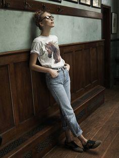inspiración: mom jeans