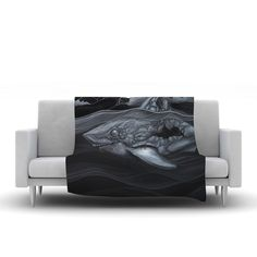 "Graham Curran ""Troubled Joe"" Fleece Throw Blanket"