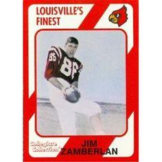 Autograph Warehouse 101815 Jim Zamberlan Football Card Louisville 1989 Collegiate Collection No. 150, As Shown