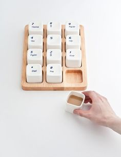 Keyboard Coffee Cups by E Square