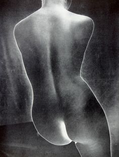 Torso (solarized), c1938        Photographer: Erwin Blumenfeld, Paris