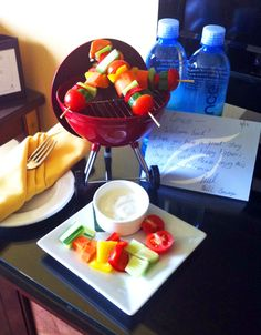 Such an awesome welcome amenity for one of our members for Fathers Day from Hotel Marlowe in Boston ... don't you just love it?