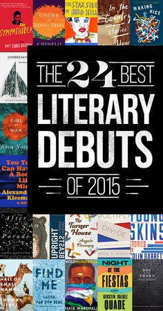 The 24 Best Literary Debuts Of 2015