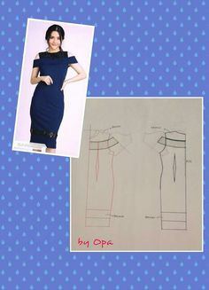Origami fashion tutorial projects 23 ideas for 2019 Easy Sewing Patterns, Clothing Patterns, Dress Patterns, Origami Fashion, Diy Dress, Fashion Sewing, Sewing Techniques, Pattern Making, Pattern Fashion