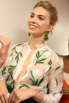oscar de la renta resort 2013, photo by rachel scroggins