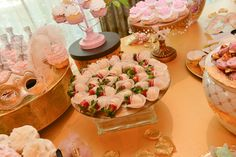 Marie Antoinette themed bridal shower. White chocolate covered strawberries. A Magic Moment Photography.