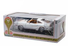 Diecast Auto World - Greenlight 1/18 Scale 1978 Ford Mustang II King Cobra White With Gold Diecast Car Model 12939, $54.99 (http://stores.diecastautoworld.com/products/greenlight-1-18-scale-1978-ford-mustang-ii-king-cobra-white-with-gold-diecast-car-model-12939.html/)