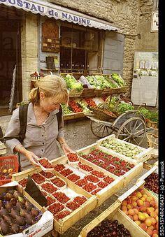 Gordes Market, southeastern France