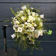 #bruidsboeket #bruid #trouwen  Peter Manders bloemist in #Lemmer
