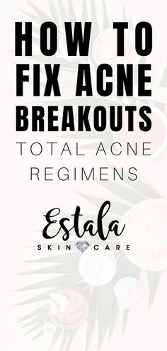 How to fix acne breakouts - total acne regimens! Still fighting stubborn acne? Learn about the things that cause acne in adults and how to get rid of acne and prevent breakouts from Estala Skin Care. The best skin care, acne skin care, face care, and acne Oily Skin Treatment, Back Acne Treatment, Skin Care Treatments, Face Cleaning Routine, Acne Reasons, Face Care Tips, Dry Skin Remedies, Clear Skin Tips, Acne Breakout