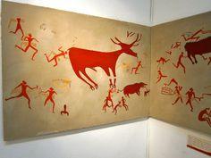 Çatal Hüyük falfestmény