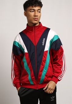 Gully Garms vintage adidas tracksuit jacket.