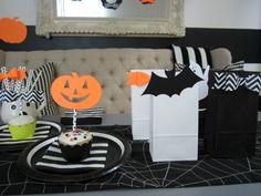Design Sprinkle: Halloween Party Ideas#NightmareBeforeChristmas #GiftBag #Party #Favor