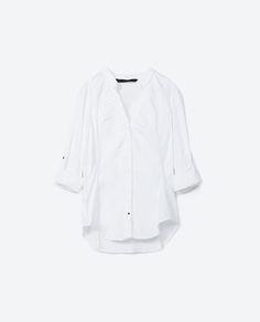 Image 6 of TWILL SHIRT from Zara