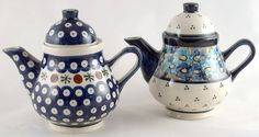 Really cute teapots and cups!