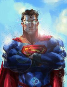 Superman by Nthinila Phumaphi Comic Book Characters, Comic Character, Comic Books Art, Comic Art, Book Art, Superman Man Of Steel, Superman Wonder Woman, Batman And Superman, Superman Stuff