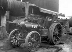 View of Fowler engine no 15376, 12 tons, 'Tare'. Registration no MA 5656 owned by Robert Bridson and Son Neston.