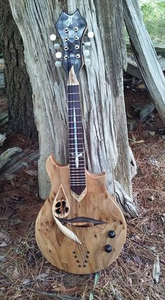 "Highlander Mandolins ""Spirit Walker""... like the string through setup"
