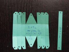 Huhu Ihr Lieben, hier ist eben die Anleitung für das kleine Körbchen:  Hier noch einmal geschrieben: Cardstock in der Größe 9 x 9 cm falzen bei 1/ 2 / 3 / 6 / 7 / 8 cm drehen und falzen bei 3 / 6 cm D