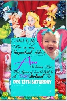 Ava 1st birthday #onderland #diy #ava #picsartapp