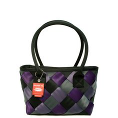 Harvey's Seatbelt bags - Medium Plaza Tote Plaid.