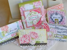 gorgeous cards and box from Betsy Veldman