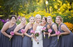 Charcoal gray brides