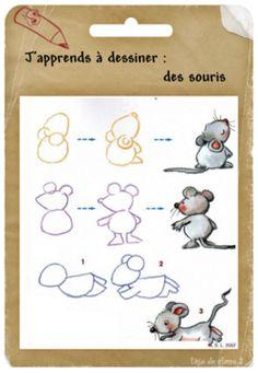 comment on dessine une souris ?