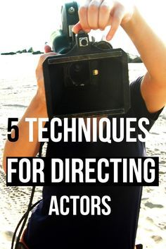 A film director has many endless job roles on set but the most significant is directing actors and making sure that the best possible performances are given on screen. There is not a lot of advice out there about how to go about directing actors for film so I have made a list based on m