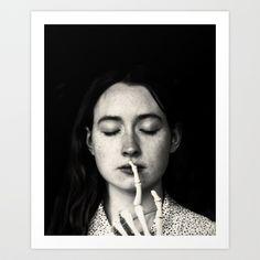 shh Art Print by Elle Moss - $18.00
