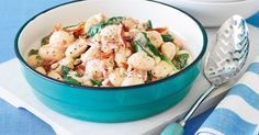 Pasta is a fast family-friendly winner, and this one with a creamy sauce is soothing for winter nights.