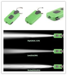 NEXTORCH GL10 USB RECHARGABLE LED KEYCHAIN LIGHT - GREEN
