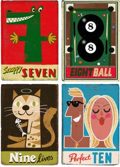 more great number prints by Paul Thurlby