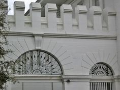 Ironwork detail, City Market (Now the History Museum of Mobile)