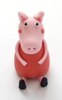 Kako izdelati Pujso Pepo - How to make Peppa Pig fondant figurine Fondant Tips, Fondant Tutorial, Pegga Pig, Peppa Pig Birthday Cake, 2nd Birthday, Amazing Food Art, Pig Party, Fondant Figures, Gum Paste