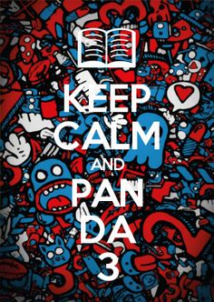 KEEP CALM AND PAN DA 3