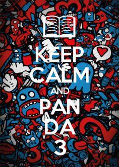 KEEP CALM AND PAN DA 3