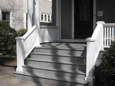 steps to enclosed front porch | Porch Stairs — Brian Casey ...