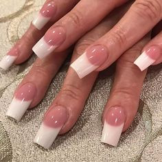 260 Best Pink And White Nails Images On Pinterest In 2018 White