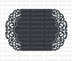 Wedding invitation SVG DXF ai CRD eps Card Templates