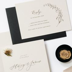 Beautiful floral illustrations and wax seal for wedding invitations Romantic Wedding Stationery, Whimsical Wedding Invitations, Floral Invitation, Custom Wedding Invitations, Wedding Envelopes, Wedding Calligraphy, Floral Illustrations, Gold Wedding, Wedding Details