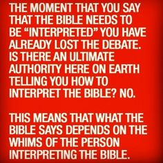 This is the unfortunate problem with any religion. Its 'meaning' and 'truth' is always dependent upon the individual interpreting it. Atheist Agnostic, Atheist Quotes, Humanist Quotes, Atheist Funny, Athiest, Anti Religion, Religious People, Truth Hurts, Christianity