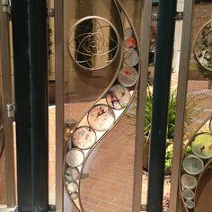 Garden screen idea