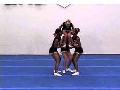 The Basics for Partner Stunts & Transitions Cheerleading Stunts