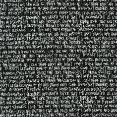 Carolyn Friedlander - Architextures - Scribble Notes in Black